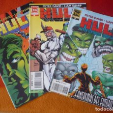 Cómics: HULK VOL. 2 NºS 5, 6 Y 7 ( PETER DAVID LIAM SHARP ) ¡BUEN ESTADO! FORUM MARVEL. Lote 212582350