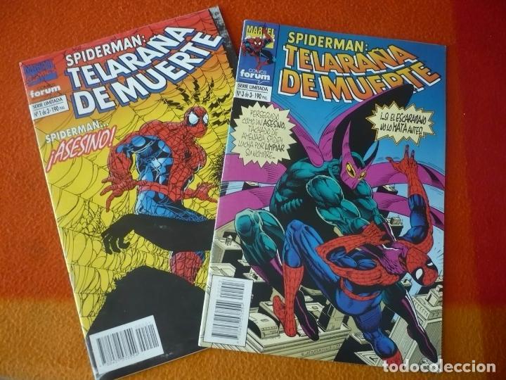 SPIDERMAN TELARAÑA DE MUERTE NºS 1 Y 3 ¡BUEN ESTADO! FORUM MARVEL (Tebeos y Comics - Forum - Spiderman)