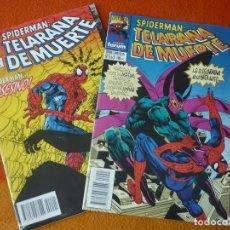 Cómics: SPIDERMAN TELARAÑA DE MUERTE NºS 1 Y 3 ¡BUEN ESTADO! FORUM MARVEL. Lote 212584058