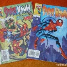 Cómics: SPIDERWOMAN NºS 1 Y 2 ( BYRNE ) ¡BUEN ESTADO! FORUM MARVEL SPIDERMAN SPIDER WOMAN. Lote 212584135