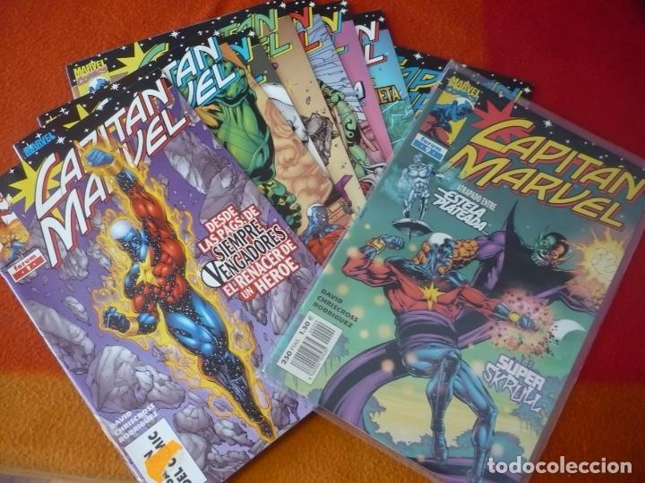CAPITAN MARVEL VOL. 1 NºS 1, 2, 3, 4, 5, 6, 7, 8 Y 9 ( PETER DAVID ) ¡MUY BUEN ESTADO! FORUM MARVEL (Tebeos y Comics - Forum - Spiderman)