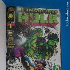 Cómics: COMIC RETAPADO DE EL INCREIBLE HULK AÑO 1998 Nº 11 NUMEROS*** COMICS FORUM LOTE 30. Lote 221995612