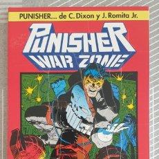 Cómics: PUNISHER WAR ZONE COLECCIÓN ONE SHOT Nº 4 CHUCK DIXON JOHN ROMITA JR. FORUM 1993. Lote 212592408