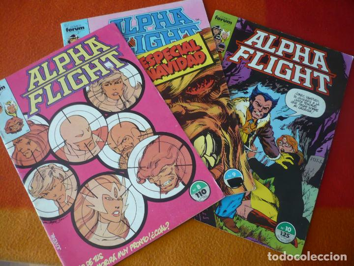 ALPHA FLIGHT VOL. 1 NºS 8, 9 Y 10 ( BYRNE ) ¡BUEN ESTADO! FORUM MARVEL (Tebeos y Comics - Forum - Alpha Flight)