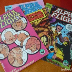 Cómics: ALPHA FLIGHT VOL. 1 NºS 8, 9 Y 10 ( BYRNE ) ¡BUEN ESTADO! FORUM MARVEL. Lote 212613580
