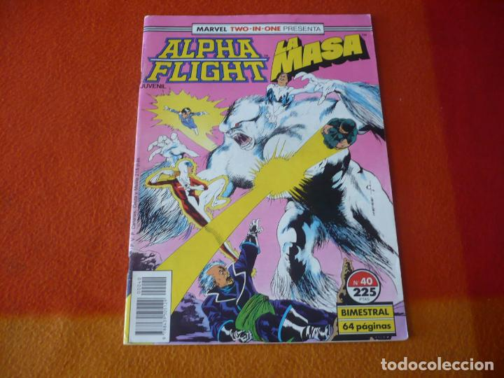 ALPHA FLIGHT VOL. 1 Nº 40 ( MANTLO BUSCEMA ) ¡BUEN ESTADO! FORUM MARVEL TWO IN ONE LA MASA HULK (Tebeos y Comics - Forum - Alpha Flight)