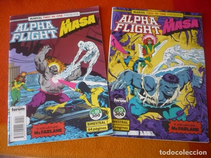 ALPHA FLIGHT VOL. 1 NºS 52 Y 53 ( MCFARLANE ) ¡BUEN ESTADO! FORUM MARVEL TWO IN ONE LA MASA HULK (Tebeos y Comics - Forum - Alpha Flight)