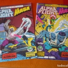 Cómics: ALPHA FLIGHT VOL. 1 NºS 52 Y 53 ( MCFARLANE ) ¡BUEN ESTADO! FORUM MARVEL TWO IN ONE LA MASA HULK. Lote 212613776