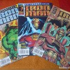 Cómics: IRON MAN VOL. 2 NºS 2, 3 Y 8 ( MCFARLANE ) ¡BUEN ESTADO! FORUM MARVEL HEROES REBORN. Lote 212613843