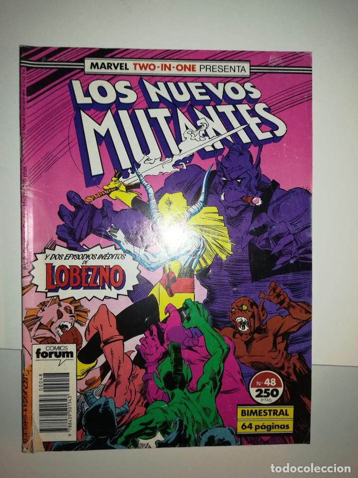 NUEVOS MUTANTES VOL 1 #48 (MARVEL TWO-IN-ONE) (Tebeos y Comics - Forum - Nuevos Mutantes)