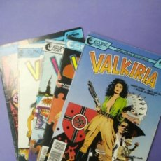 Cómics: VALKIRIA: SERIE COMPLETA EN PERFECTO ESTADO. ECLIPSE - FORUM COMICS, 1990. Lote 212658652