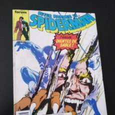 Cómics: CASI EXCELENTE ESTADO SPIDERMAN 166 AL 170 RETAPADO FORUM. Lote 212673681