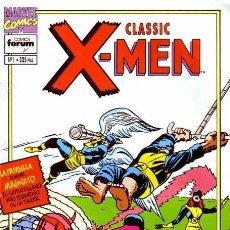 Cómics: CLASSIC X MEN COMPLETA FORUM. PATRULLA X. Lote 212702160