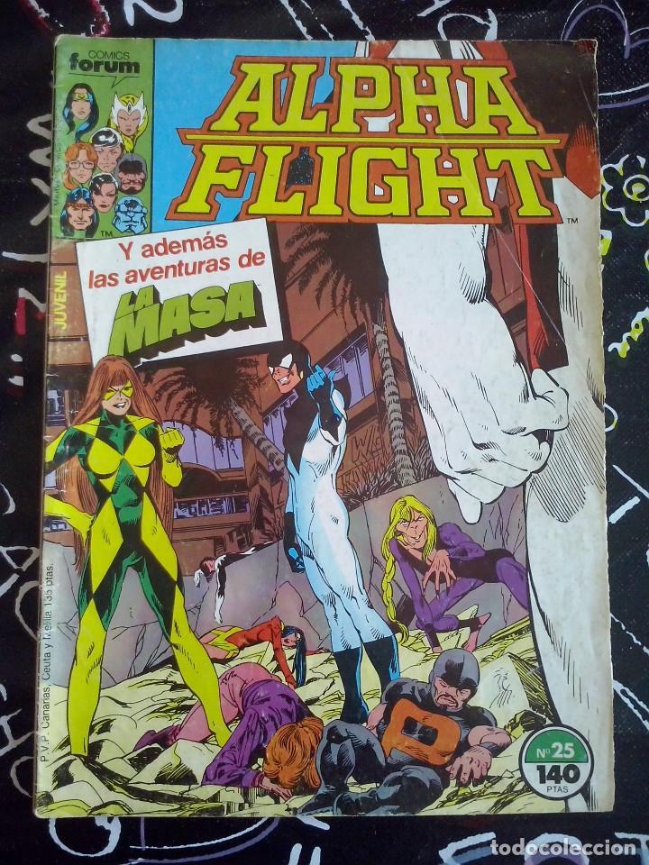 FORUM - ALPHA FLIGHT VOL.1 NUM. 25 (Tebeos y Comics - Forum - Alpha Flight)