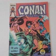Cómics: CONAN EL BÁRBARO NÚMERO 61 CÓMICS FORUM 1983. Lote 212766120