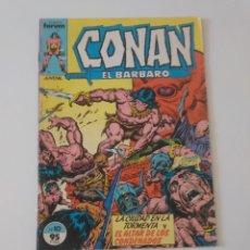 Cómics: CONAN EL BÁRBARO NÚMERO 10 CÓMICS FORUM 1983. Lote 212767216