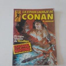 Cómics: LA ESPADA SALVAJE DE CONAN NÚMERO 46 ESPECIAL NAVIDAD SERIE ORO 1982 PLANETA CÓMIC. Lote 212769287