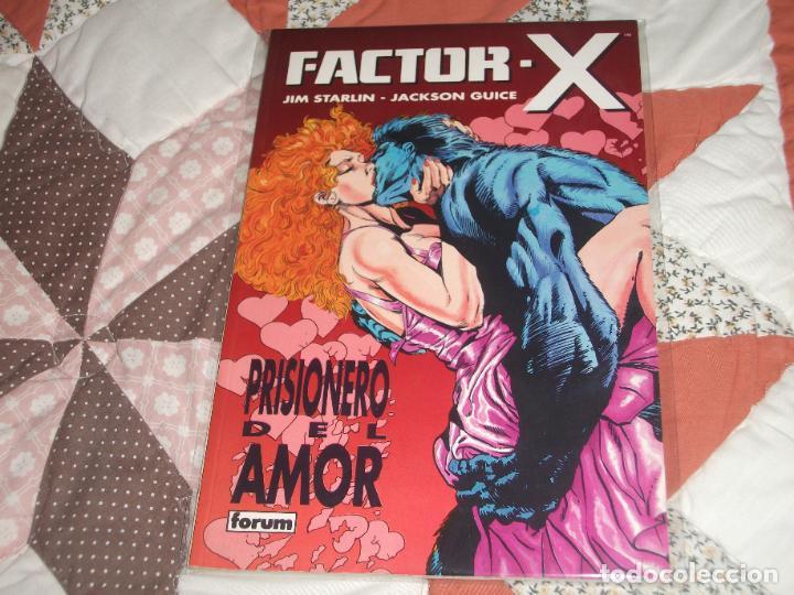 FACTOR X PRISIONERO DEL AMOR (Tebeos y Comics - Forum - Prestiges y Tomos)