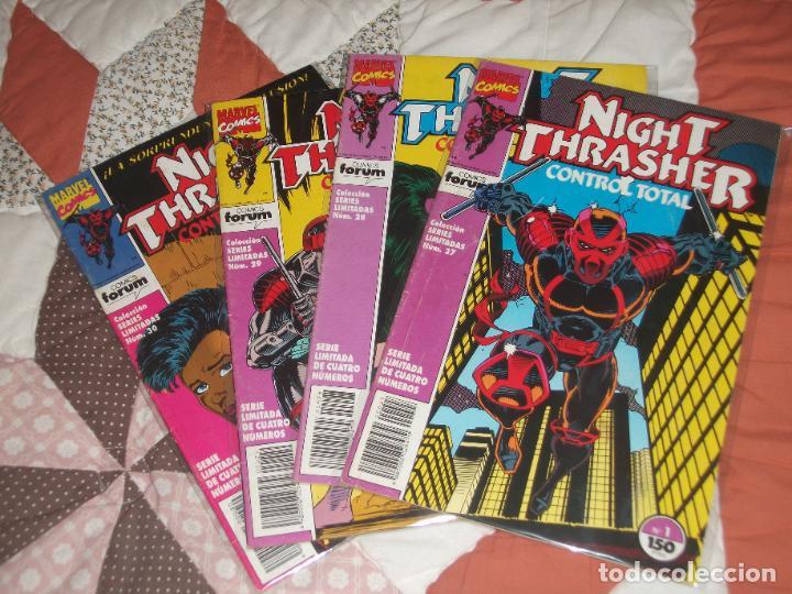 NIGHT TRASHER CONTROL TOTAL COMPLETA 4 NUMEROS (Tebeos y Comics - Forum - Prestiges y Tomos)