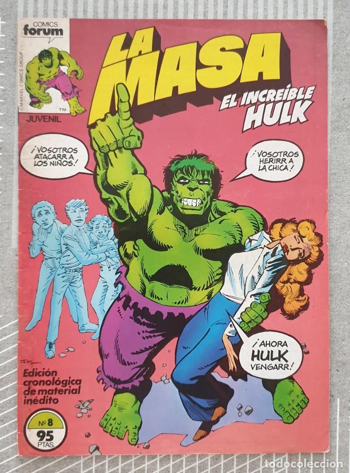 LA MASA Nº 8. COMICS FORUM 1983 (Tebeos y Comics - Forum - Hulk)