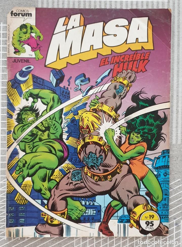 LA MASA Nº 19. COMICS FORUM 1983 (Tebeos y Comics - Forum - Hulk)