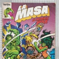 Cómics: LA MASA Nº 19. COMICS FORUM 1983. Lote 212887023