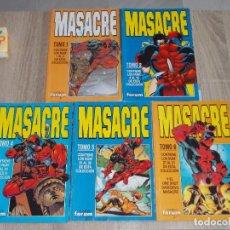 Comics : RETAPADOS MASACRE VOL-3. Nº 1,2,4,5 Y 6. FORUM. Lote 212889806
