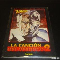 Cómics: X-MEN LA CANCION DEL VERDUGO 2 OBRAS MAESTRAS. Lote 212948261