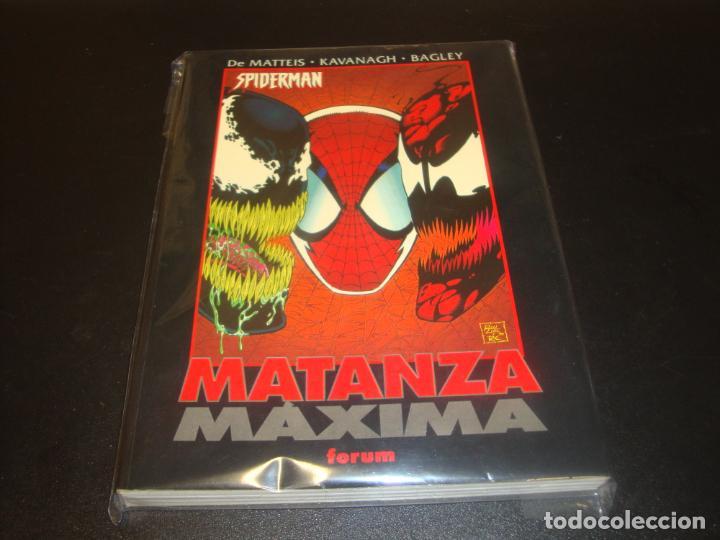 SPIDERMAN MATANZA MAXIMA OBRAS MAESTRAS (Tebeos y Comics - Forum - Prestiges y Tomos)