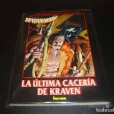 Cómics: SPIDERMAN LA ULTIMA CACERIA DE KRAVEN OBRAS MAESTRAS. Lote 212948315