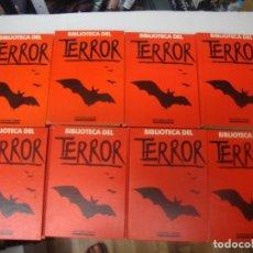 Cómics: 8 PRIMEROS VOLÚMENES BIBLIOTECA DEL TERROR ENCUADERNADOS. Lote 213007297