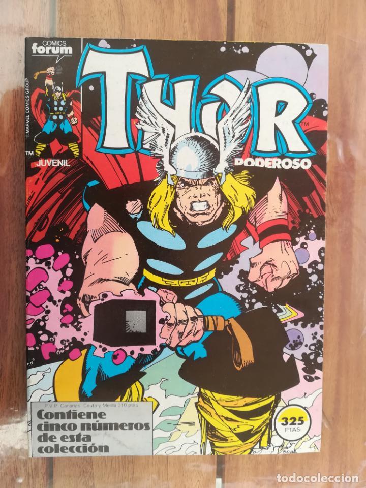 THOR. VOL 1. TOMO RETAPADO DEL 31 AL 35. FORUM (Tebeos y Comics - Forum - Thor)