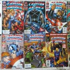 Cómics: CAPITAN AMERICA HEROES REBORN 1,2,3,4,5,7,8,9,10,11,. Lote 213044798