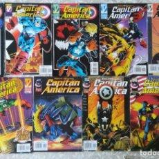 Cómics: CAPITAN AMERICA VOL 3 1,2,3,4,5,6,9,10,11. Lote 213045407