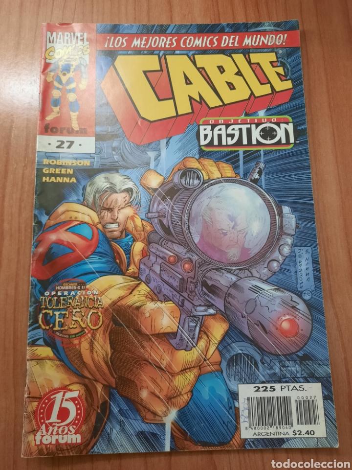 CABLE. NUMERO 27 (Tebeos y Comics - Forum - Otros Forum)