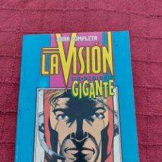 Cómics: LA VISIÓN-HOMBRE GIGANTE-(HOMBRE HORMIGA)RETAPADO FORUM-OBRA COMPLETA-SUPER HEROES LOS VENGADORES. Lote 213057000