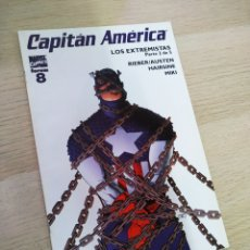 Cómics: EXCELENTE ESTADO CAPITAN AMERICA 8 VOL V FORUM. Lote 213138585
