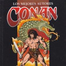Cómics: COMIC TAPA DURA LOS MEJORES AUTORES CONAN ERNIE CHAN. Lote 213215250