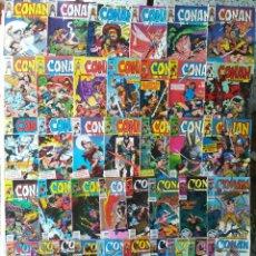 Cómics: CONAN EL BARBARO 36 GRAPAS. Lote 213298363