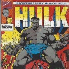 Cómics: HULK IRON MAN - 9 NºS - COMPLETA - MUY BUEN ESTADO !!. Lote 213300345