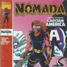 Cómics: NOMADA - SERIE LIMITADA DE 4 NºS - MUY BUEN ESTADO !!. Lote 213301560