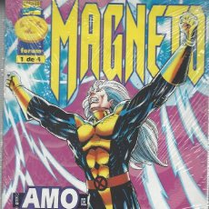 Comics: MAGNETO - SERIE LIMITADA 4 NºS - COMPLETA - DE RETAPADO - MUY BUEN ESTADO. Lote 223193020