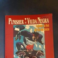 Cómics: PUNISHER Y LA VIUDA NEGRA: TEJIENDO LA RED DEL DÍA DEL JUICIO - PRESTIGIO - FORUM. Lote 269997028
