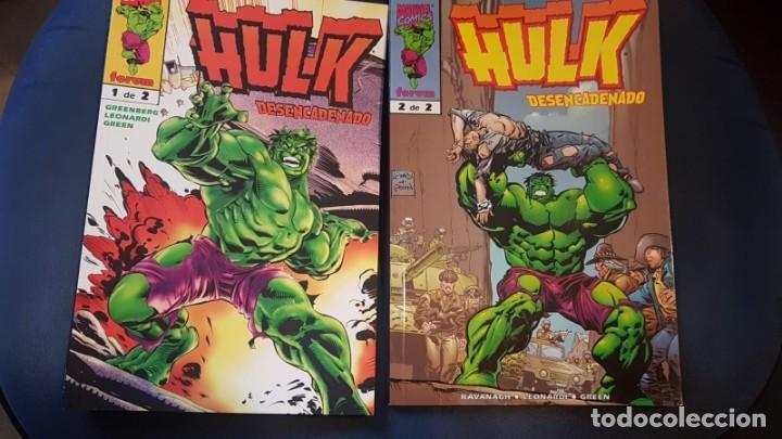 HULK: DESENCADENADO (OBRA COMPLETA 2 TOMOS) - FORUM (Tebeos y Comics - Forum - Hulk)
