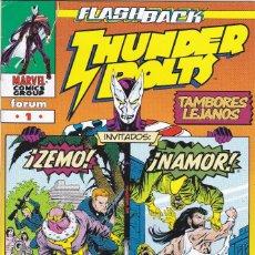 Cómics: THUNDERBOLTS: TAMBORES LEJANOS - FORUM. Lote 213402052