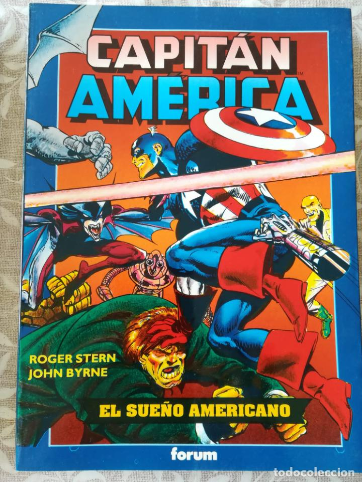 CAPITAN AMERICA EL SUEÑO AMERICANO OBRAS MAESTRAS 10 (Tebeos y Comics - Forum - Prestiges y Tomos)