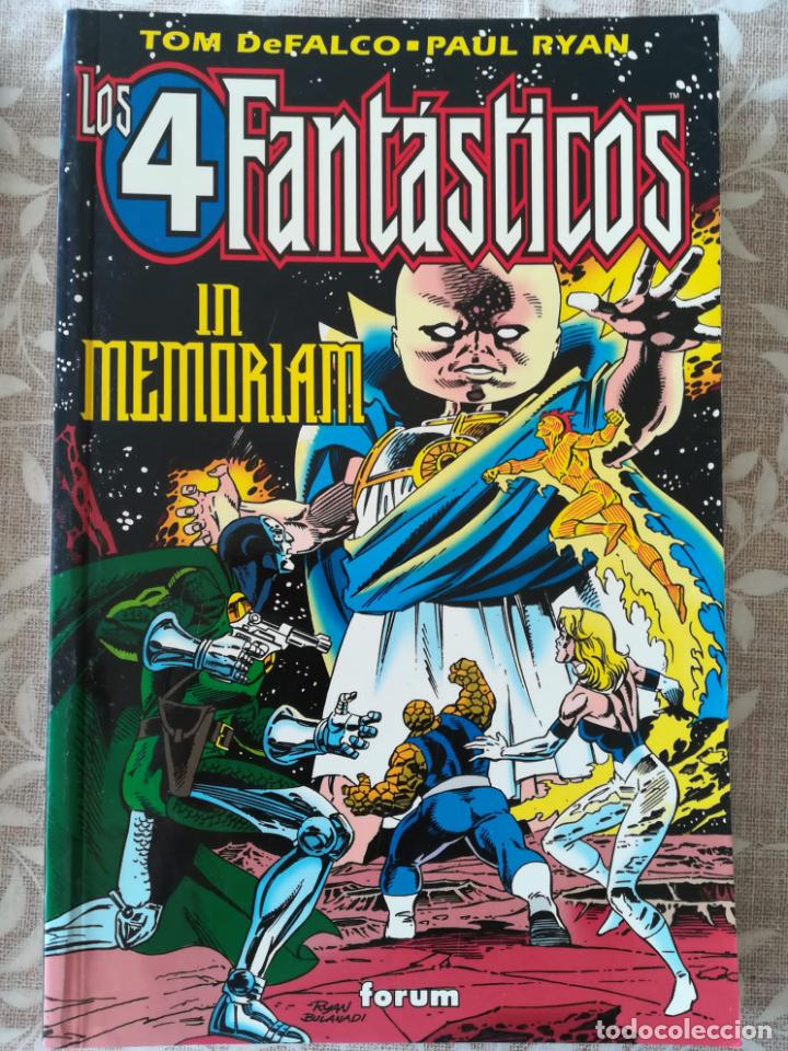 LOS 4 FANTASTICOS IN MEMORIAM (Tebeos y Comics - Forum - Prestiges y Tomos)