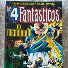 Cómics: LOS 4 FANTASTICOS IN MEMORIAM. Lote 223684993