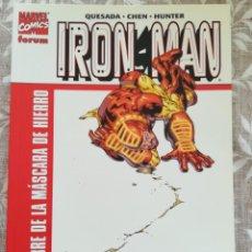 Cómics: IRON MAN EL HOMBRE DE LA MASCARA DE HIERRO. Lote 213455092