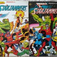Cómics: STARJAMMERS COMPLETA 2 TOMOS. Lote 213455640